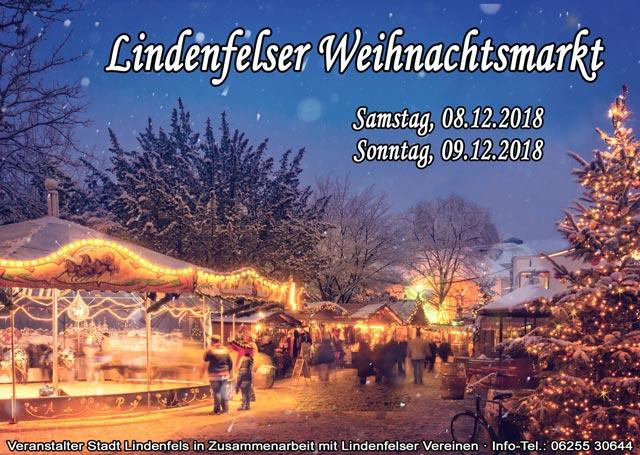 🎄 Wieder mit dabei, auf dem Lindenfelser Weihnachtsmarkt 🎄